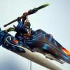 Eldar Runenprophet auf Jetbike