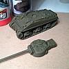 Step 1 Grundierung des Panzers