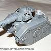 Leman Russ Kampfpanzer vor der Lackierung