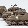 Szenario Nordafrika: US M5A1 Stuart Platoon
