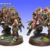 Warhammer 40k: Chaos Space Marines - Unterstützungs Einheiten