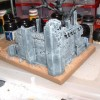 Inquisitionsgardisten Diorama in Arbeit