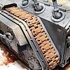 Ketten mit MIG Old Rust bemalt